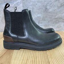 Frye Terra Chelsea Size 8.5 Mens Black Boots