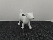 Williams Sonoma- White Porcelain Cow Creamer/Milk Pitcher  Apilco Made in France