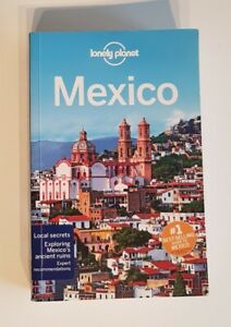 Lonely Planet Travel Guide Book to Mexico