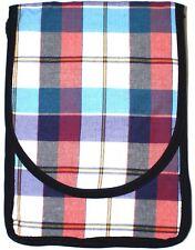 Tartan Check Bag, Plaid Mini Tablet Bag, Cross Body Quirky Ladies Bags UK Seller