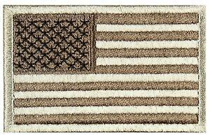 Condor US Flag Morale Patch - Desert - 2'x 3' Hook Back 230-009
