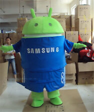 2019 Advertising Android Robot Mascot Costume Party Dress Cosplay Outfit Parade