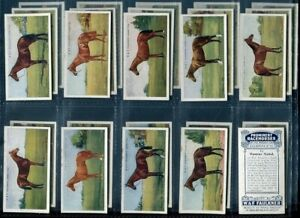 Tobacco Card Set, Faulkner, PROMINENT RACEHORSES PRESENT DAY, 2nd Series, 1924