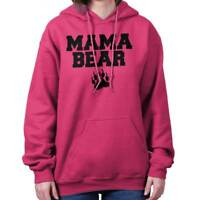 Mama Bear Worlds Greatest Mom Mother Day Gift Womens Hooded Pullover Sweatshirt