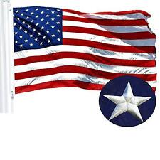 G128 – American Flag US USA | 2.5x4 ft | Embroidered Stars, Sewn Stripes
