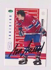Serge Savard Montreal Canadiens 03/04 Parkhurst Original 6 Signed Card W/COA