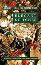 Books Elegant Stitches New An Illustrated Stitch Guide Source Book Inspiration
