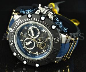 Invicta 52mm Subaqua Noma VII Dragon SWISS MOVT Chronograph Black Blue Watch