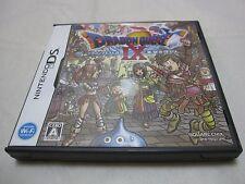 7-14 Days to USA USED Nintendo DS Dragon Quest 9 IX Hoshizora. Japanese Version.