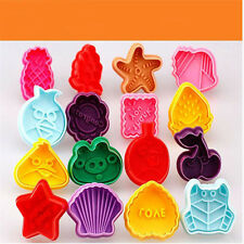 1 Pcs Mixed Style Cookie Biscuit Cutter Stamp Mold Fondant Cake Sugar craft HE