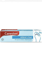Canesten Dual Action 1% w/w Cream Treatment For Athlete's Foot 15g