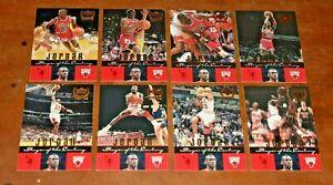 8 1999 MICHAEL JORDAN Upper Deck Century Legends Player of the Century Card Lot