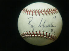 Bill Mueller Boston Red Sox 04 WSC autographed MLB game used baseball