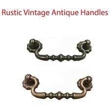 Rustic Vintage Antique Handles for Drawer Cabinet Door Kitchen Drop Handle 645
