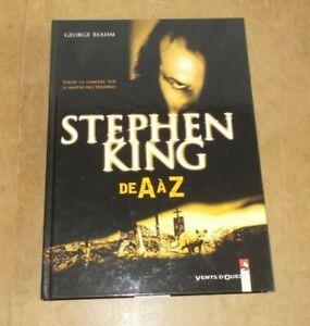 STEPHEN KING de A à Z - George BEAHM - VENTS D'OUEST - 2000