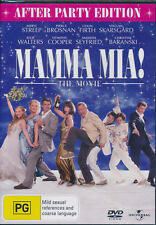 Mamma Mia! The Movie After Party Edition DVD NEW Region 4