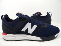 New Balance Men's 247 Sneaker Decon Blue/White Size 9.5