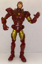 2006 MARVEL LEGENDS TOY BIZ ICONS IRON MAN 12IN LOOSE FIGURE VARIANT 1