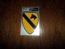 U.S MILITARY ARMY 1ST CAVALRY WINDOW DECAL STICKER. 1ST CAV DIVISION