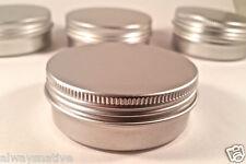 16 pcs Cosmetic Cream Make Up Lip Jar Tin Container Screw 60ml/2oz storage screw