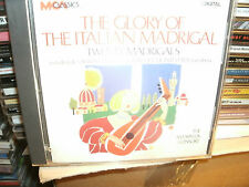 THE GLORY OF THE ITALIAN MADRIGAL,THE AMARYLLIS CONSORT