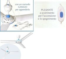 3 MAX VENTILATORE A SOFFITTO  3 PALE NO METALLO  OFFERTA ESTATE