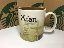 China Starbucks Coffee City Series mug of  Xian 16oz