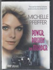 Power, Passion and Murder (DVD, 2005) Michelle Pfeiffer, Free Shipping !!!