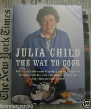 Julia Child The Way to Cook DVD w Recipe Booklet Six Hour Series NEW & Sealed FS