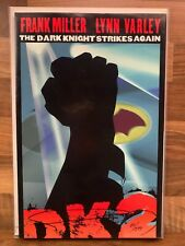 THE DARK KNIGHT STRIKES AGAIN #1 LOGO EDITION signed by FRANK MILLER (DC Comics)