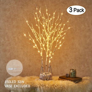 Hairui LED Twig Branch Lights Plug in Lighted Willow Branch Christmas Home Decor