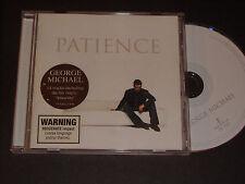 GEORGE MICHAEL 'Patience' 2004 Australian CD Album