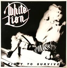 WHITE LION - FIGHT TO SURVIVE (LP) (VG-/VG)