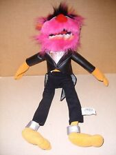 NANCO ANIMAL MUPPET DRUMMER PLUSH STUFFED WITH TUXEDO SESAME STREET 17''