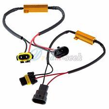 Load Resistor 9006 HB4 50W 6ohm LED DRL Fog Turn Signal Light Hyper Blinker 2Pcs