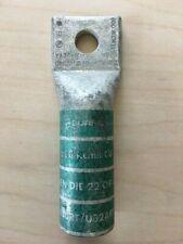 Burndy Ya36-N 600 kcmil Green Compression Crimp Lugs