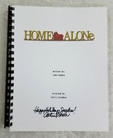 "Catherine O'Hara ""Kate"" Signed Movie Script ""Home Alone"" 1990 Film Movie"