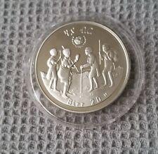 1979 Etiopía 20 Birr Año Internacional del Niño moneda de plata prueba