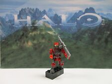 Halo Mega Bloks Blind Bag Series 1 Red Spartan with original figure blok