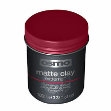 Osmo Matte Clay Extreme Hold Texture Wax for Natural Look Strong Hold 100ml