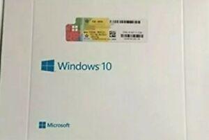 Microsoft Windows 10 Pro Sistema Operativo (solo PRO 1 PC)
