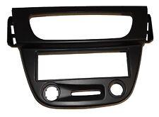 Façade cadre réducteur adaptateur cache noir autoradio DIN pour Renault Mégane 3