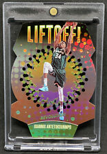 2017-18 Revolution Basketball Liftoff! Giannis Antetokounmpo Die Cut Insert Buck