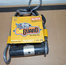 Onguard 5012 Bulldog DT U-Lock with Cable BIKE Lock/ Cycling.  ONE MEAN LOCK