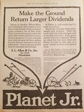 Planet Jr S L Allen & Company 1916-1921 The Country Gentleman 21 print ads