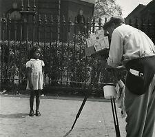 Erika STONE: Harlem Photographer, NYC, 1949 / Silver / PHOTO LEAGUE / SIGNED!