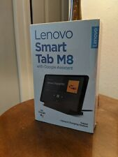 Lenovo Tab M8 HD 32GB, Wi-Fi, 8 in - Iron Gray - New In Box & SEALED - With Dock