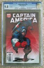 Captain America #25  CGC 9.8 VARIANT (Apr 2007, Marvel) Death Of Captain America