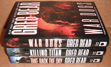 War Dogs: Vol. 1,2,3 by Greg Bear Hardcover