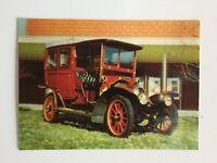 "3D Lenticular Postcard ""Renault 1920"" Vehicle - Printed by Toppan, Tokyo, Japan"